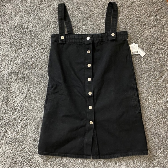 Urban Outfitters Dresses & Skirts - UO Aria Denim Straight-Neck Overall Dress